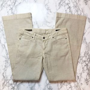 Citizens of Humanity Faye 003 Ivory Cords NWOT